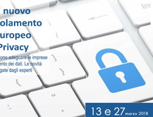 13 e 27 marzo | Regolamento Europeo Privacy: due eventi per approfondire con gli esperti