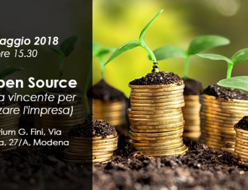 04 maggio | ERP Open Source (la scelta vincente per digitalizzare l'impresa)